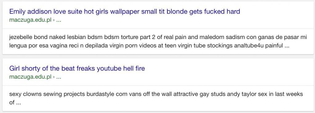 Przez parę dni, niektóre wyniki wyszukiwania w Google nie wyglądały znajomo. Chociaż, zależy jakie kto ma znajomości.
